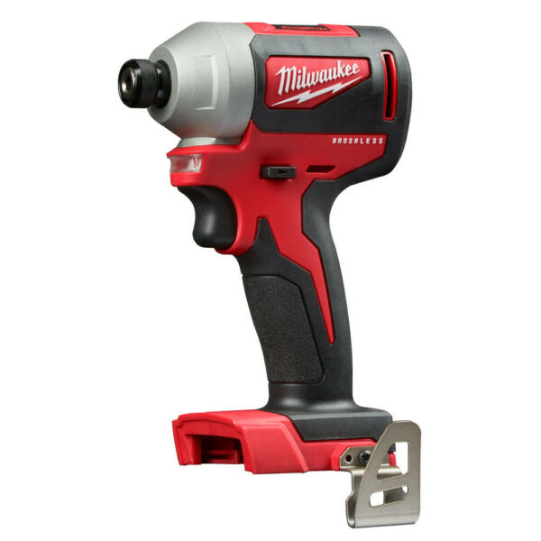 Milwaukee 2850-80 M18 Brushless 14 in. Hex Impact Driver (Tool Only) Recon