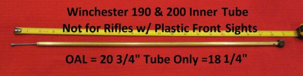 Winchester 150 190 & 200 Series Inner Magazine Tube Replacement - Old Style