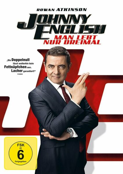 Johnny English 3 - Man lebt nur dreimal # DVD-NEU