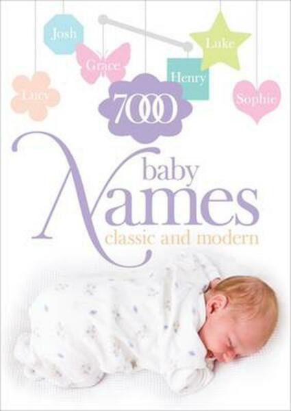 7000 Baby Names: Classic and Modern by Hilary Spence (English) Paperback Book Fr