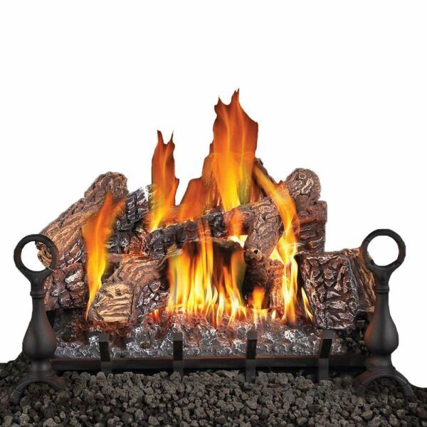 Napoleon Fiberglow 18-Inch Vented Logs for Natural Gas Fireplace (Open Box)