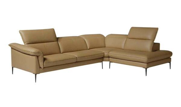 Eden Premium Leather Right Hand Facing Sectional