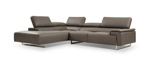I794 Premium Leather Left Hand Facing Sectional