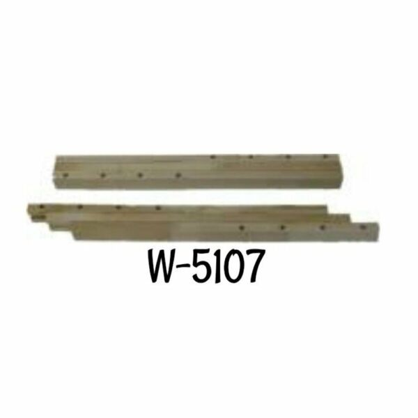 Table Slides Pair of Sag Proof Hardwood Slides 30quot; Table Parts Hardware