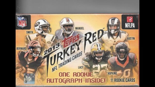 2013 Topps Turkey Red Football Factory Sealed Box (Quantity Available) $15.99