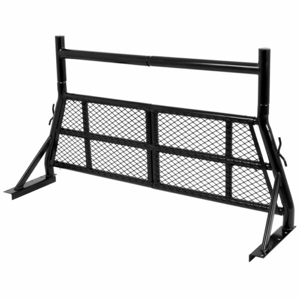 Elevate Outdoor Aluminum Headache Rack 53quot; to 71quot; for use with Pickup Truck Uti $209.99