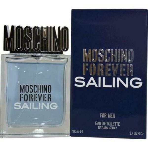 FOREVER SAILING by Moschino for men EDT 3.3 3.4 oz New in Box $30.59