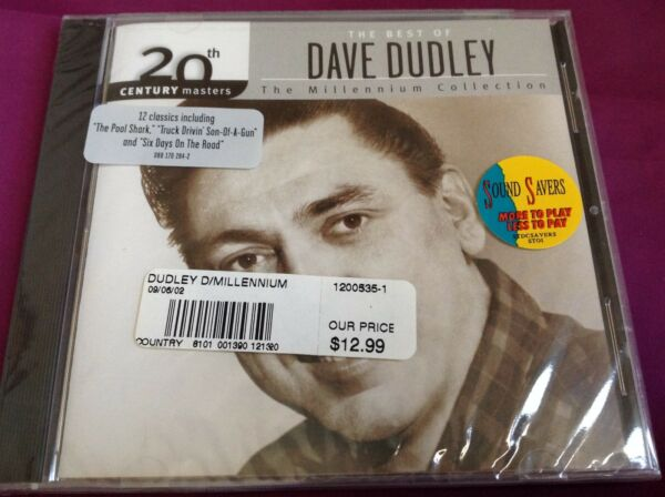 Sealed Country CD : The Millennium Collection ~The Best of Dave Dudley ~ 20th