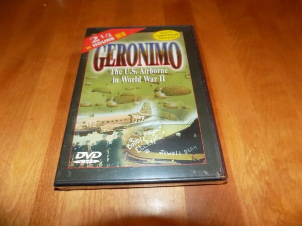 GERONIMO US Airborne 101st 82nd D-Day Market Garden Normandy Holland DVD NEW
