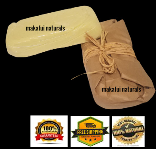 ORGANIC IVORY SHEA BUTTER (16 OZ) - PURE 100% RAW UNREFINED NATURAL GRADE A