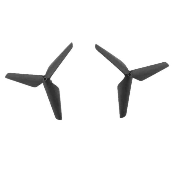 2pcs 3 Leaf Propeller Blade Props for Syma X5C JJRC H5C RC Drone Black