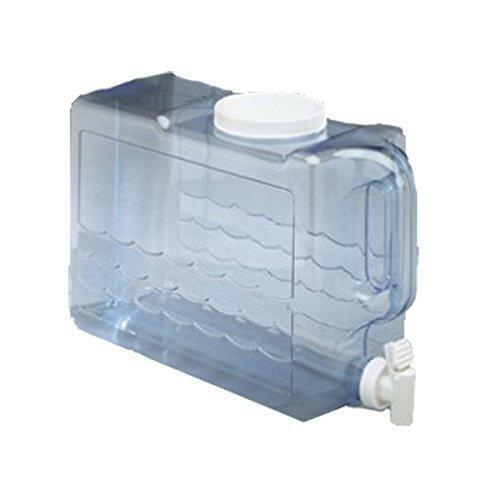 Water Jug 2.5 Gallon Container Plastic Bottle Beverage Dispenser Clear NEW