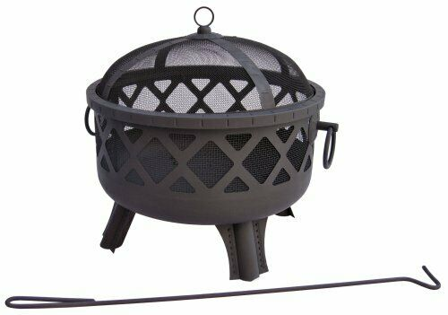 Landmann 26384 Garden Lights Sarasota Wood Fireplace - Outdoor - Portable