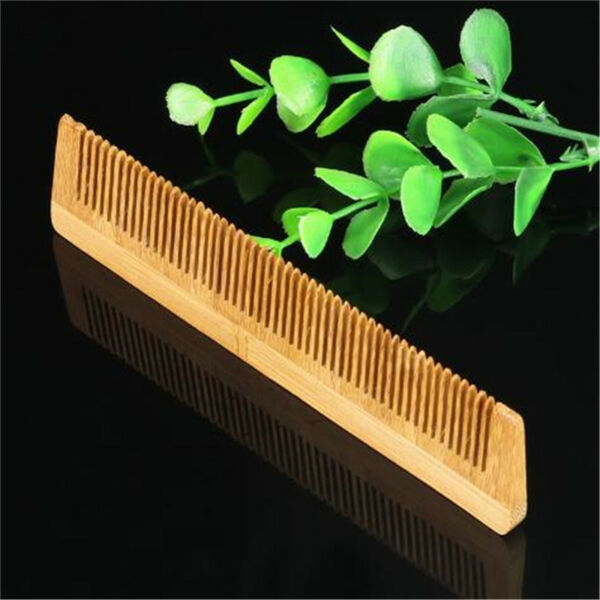 Wooden Combs Fine Teeth Plain Massage Anti-Static Comb Hair Care Brushes AL