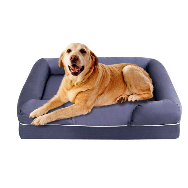 Comfortable Solid Memory Foam Dog Sofa Bed $75.00