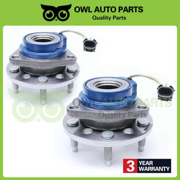 Front Wheel Hub Bearings for Buick Chevy Pontiac Cadillac Olds w ABS 513087 X2
