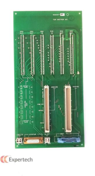 Thermco 600057 01 Top Motherboard Assy For VTR7000 Vertical Furnace $300.00