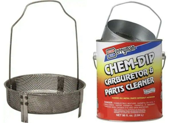 Berryman Products 950 Metal Dip Basket for 905 Parts Cleaner $26.99