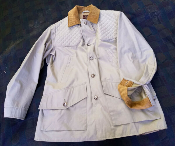 WILLIS & GEIGER N.O.S. 1985 USA GAME COAT 42R BRAND NEW UNSOLD  $750.00