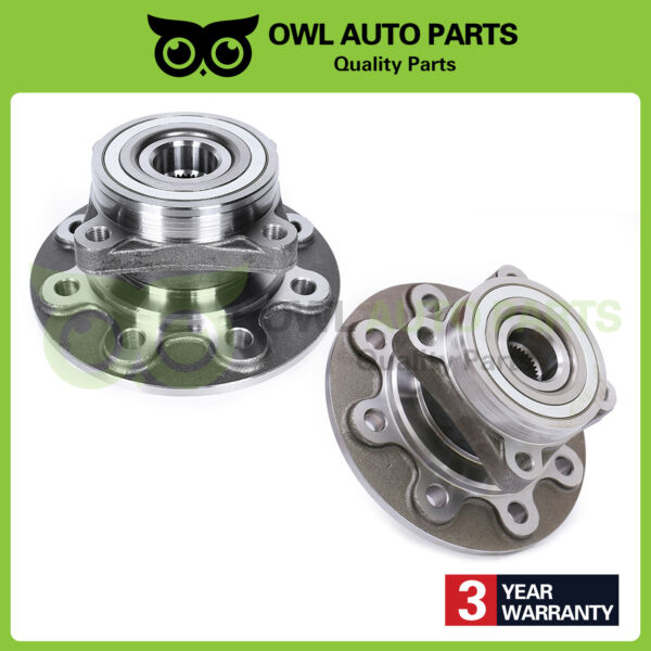2 Front Wheel Hub & Bearing Left & Right for 1994-1999 Ram 2500 4WD 8 Lug 515012