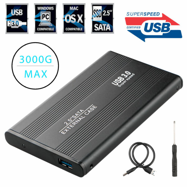 SuperSpeed USB 3.0 SATA External Aluminum 2.5