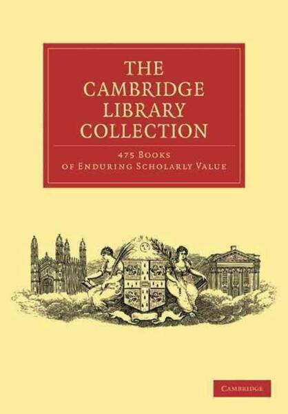 Cambridge Library Collection 475 Set by Anonymous (English) Paperback Book Free
