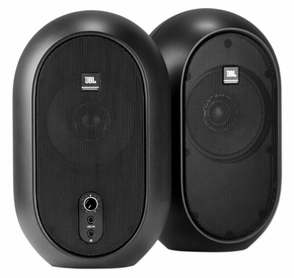Pair JBL One Series 104 Compact Powered Active Desktop Studio Reference Monitors