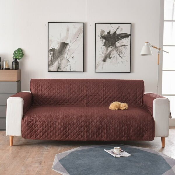 Sofa Cover Reversible Furniture ProtectorSlipcoverWater ResistantCouchPet $18.99
