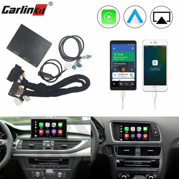 Carlinkit Wired USB CarPlay Android Auto Upgrade Decoder Kit For Audi A4 A5 Q5