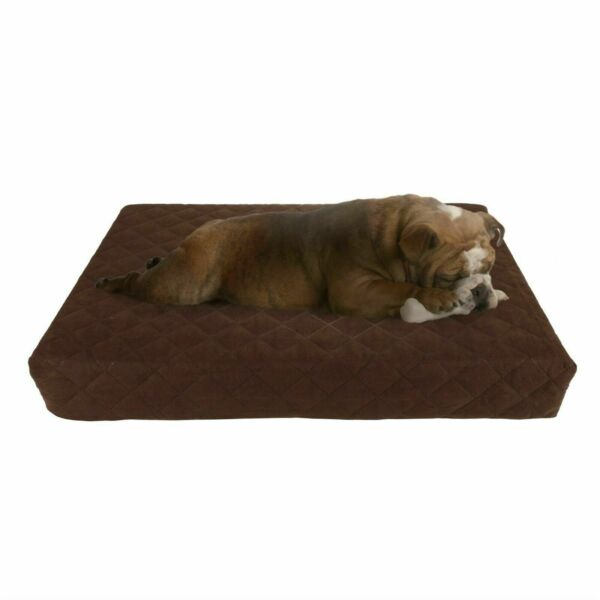 Waterproof Indoor Outdoor Memory Foam Orthopedic Pet Dog Bed Removable Cover $28.99