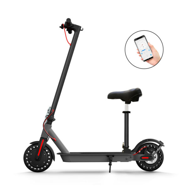 Hiboy S2 Electric Scooter 17 Miles Long Range 18.6MPH Commuter Folding Scooter