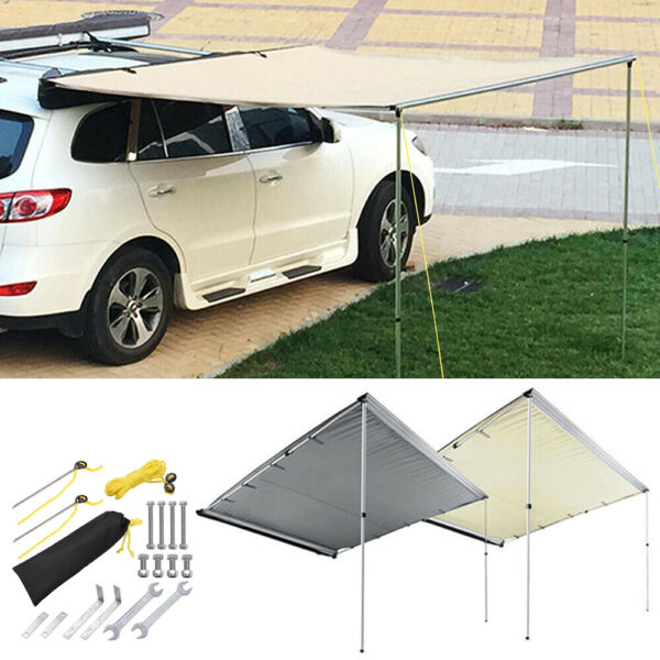 Awning Rooftop Car Tent SUV Shelter Truck Camper Outdoor Camping Canopy Sunshade $156.90