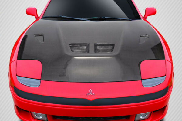 Carbon Creations Evo Hood - 1 Piece for 1991-1993 3000GT