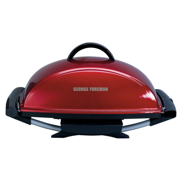 Portable Red Nonstick 12 Serving Indoor Outdoor Rectangular Electric Grill $103.99