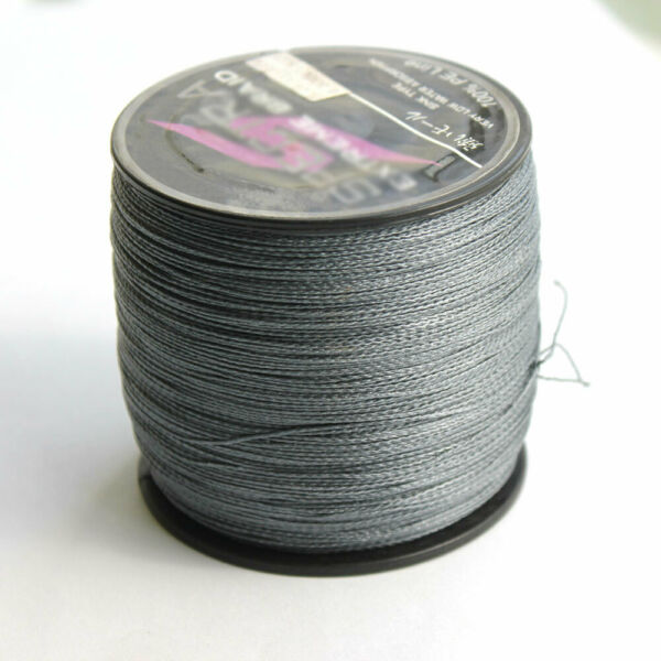 300M Strong PE Fishing Line Dyneema Spectra Extreme 4 Stands Braided Line Gray