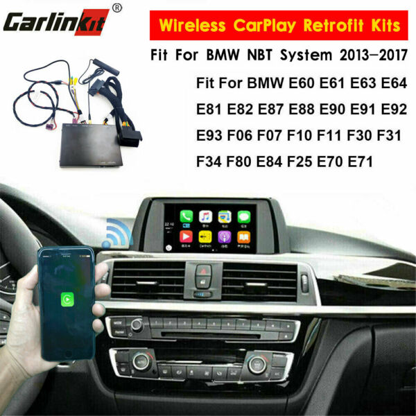 Carlinkit E81 E82 F15 F25 F30 F31 Wired CarPlay Android Auto Upgrade Fit For BMW
