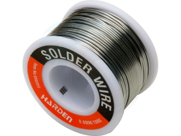 0.8mm 60 40 Sn Pb Tin Lead Rosin Core Solder Wire Electrical Soldering