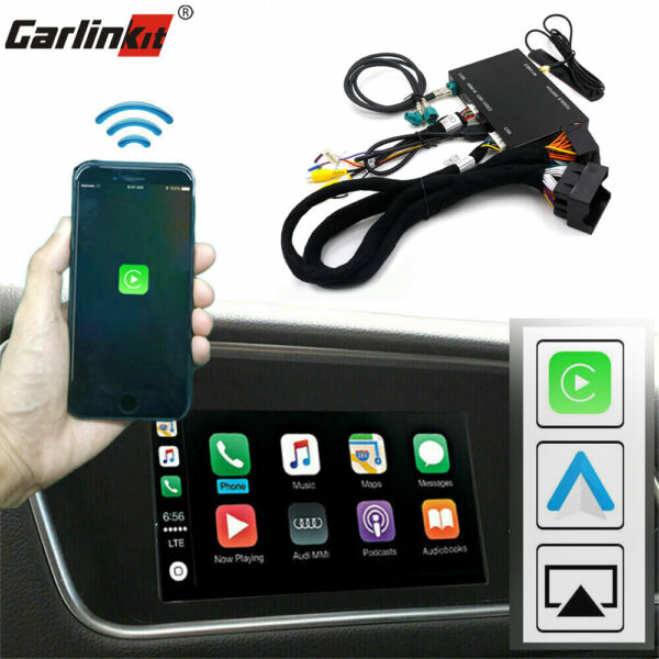 Carlinkit Wireless CarPlay Wired Android Auto Mirroring Upgrade Kit Fit For Audi