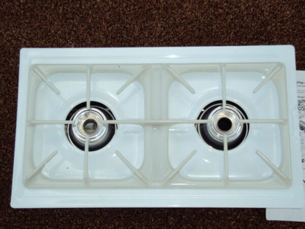 FRIGIDAIRE GAS DUAL BURNER COOKTOP MODULE CARTRIDGE 5303302773 also fits AMANA