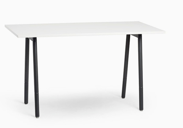 POPPIN Series A Standing Table White 72x36