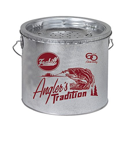 Frabill Galvanized Floating Bucket 2-Piece 8-Quart
