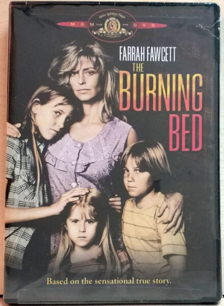 The Burning Bed. Farrah Fawcett Paul Le Mat (DVD 2004) R1NTSCFACTORY SEALED