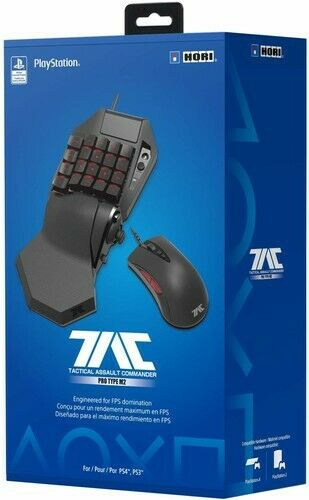 HORI TAC Pro Type M2 Programmable KeyPad and Mouse Controller forPlayS $141.55