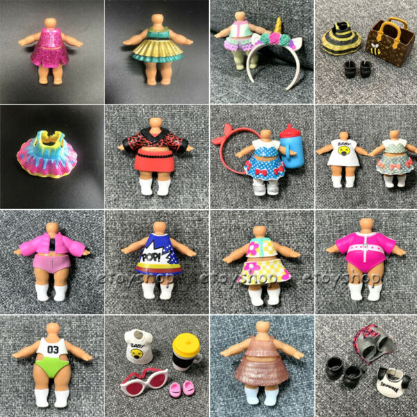 200+ outfit clothes dress for Authentic Dolls unicorn punk boy splatters Toys