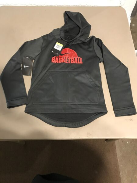 Nike Boys Basketball Pull Over Hoodie Size Small