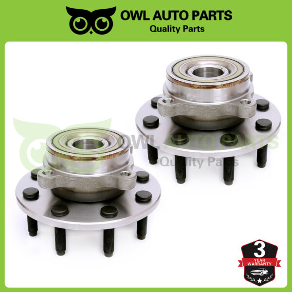 Front Wheel Bearing Hub Assembly LH & RH 4WD for 2000-2001 Dodge Ram 2500 515062