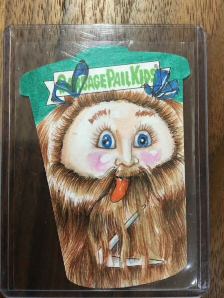 2019 Topps Garbage Pail Kids We Hate The 90's Sketch Card #11 John Brewer