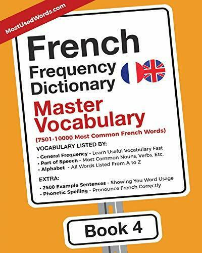 French Frequency Dictionary - Master Vocabulary MostUsedWords