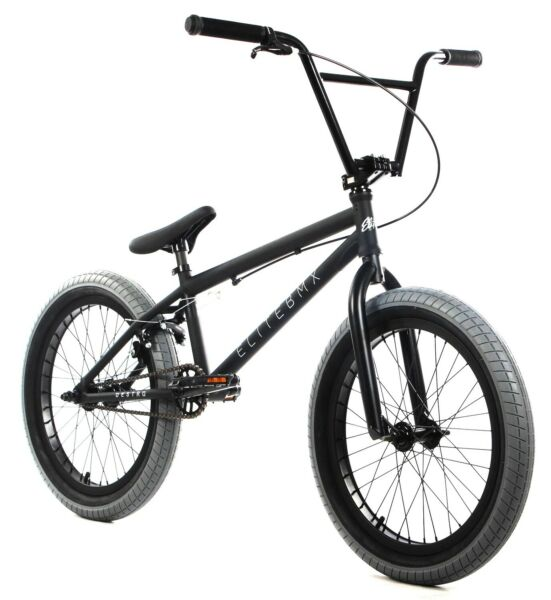 Elite 20quot; BMX Destro Bicycle Freestyle Bike 3 Piece Crank Black Grey NEW $349.00