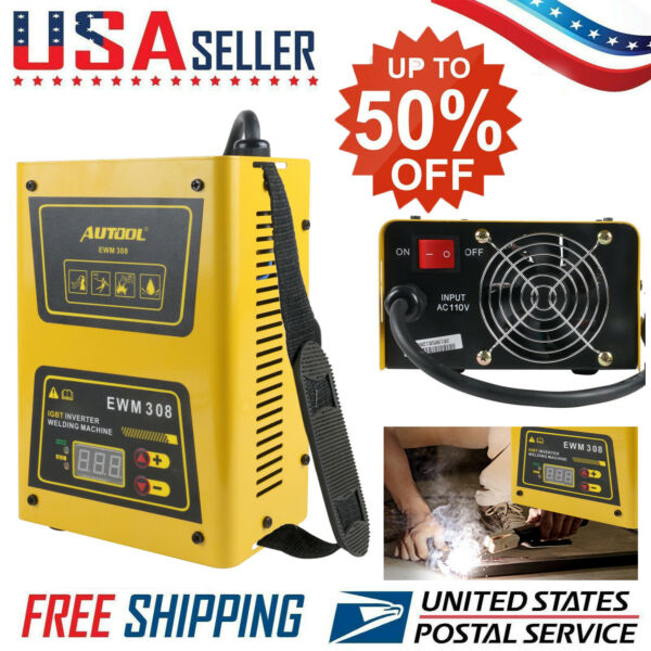 Mini IGBT ARC Welding Machine MMA Electric Welder 110V 20-160A MMA DC Inverter